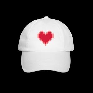 Herz - Baseballkappe