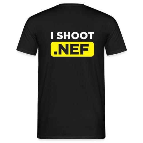 I SHOOT NEF - Männer T-Shirt