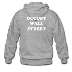 OCCUPY WALL STREET - Men's Premium Hooded Jacket