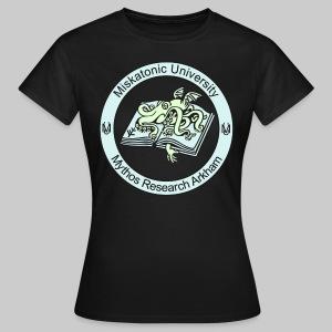 FTEv2: Miskatonic University - Mythos Research Arkham (Emblem) - (glow in the dark)  - Women's T-Shirt