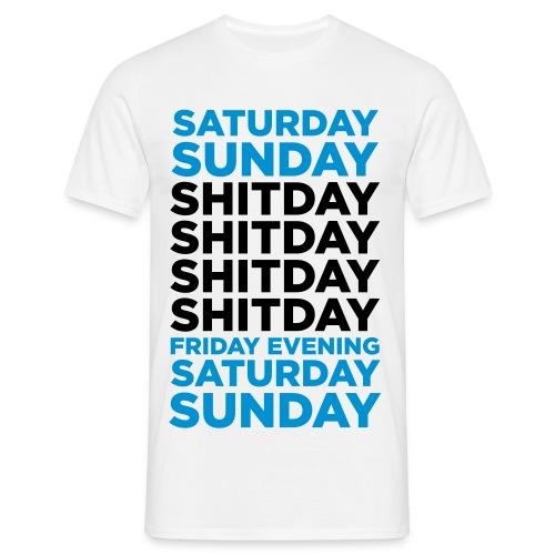 ShitDay - Camiseta hombre