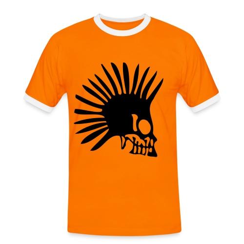 Orange Punk - Maglietta Contrast da uomo