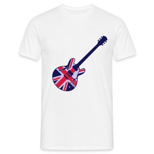 British Guitar - Maglietta da uomo