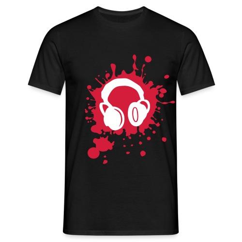 T-Shirt Headphones - Maglietta da uomo