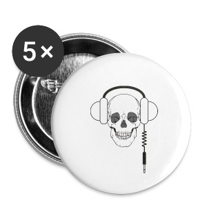 Skull casque - Badge petit 25 mm