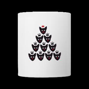 tasse, weihnachtskater - Tasse