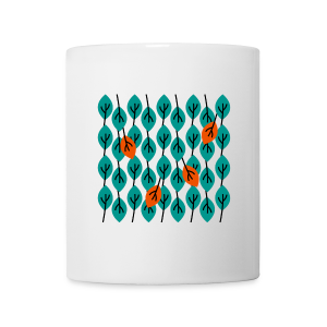 tasse, herbstlaub - Tasse