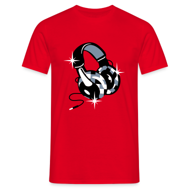 Headphones Diamond Design T-Shirts