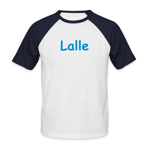 Das ultimative Lalle-Shirt - Männer Baseball-T-Shirt