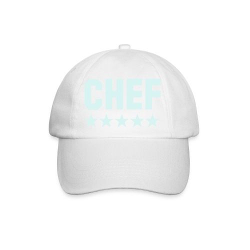 Weißes Cap - Baseballkappe