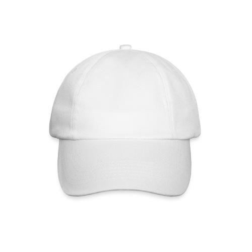 Einfaches weißes Cap - Baseballkappe
