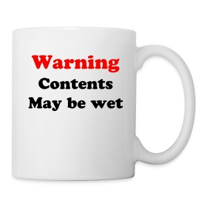 May be wet - Mug