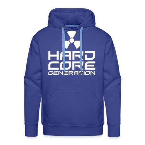 Hardcore Mens No Sleeve Hoodie - Men's Premium Hoodie