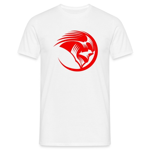 Men's T-Shirt - Mens classic white t-shirt with Phantoms roundel on the chest in black.