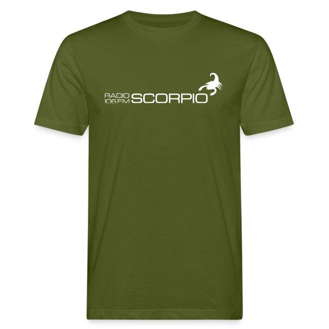 bio t-shirt mannen zwart