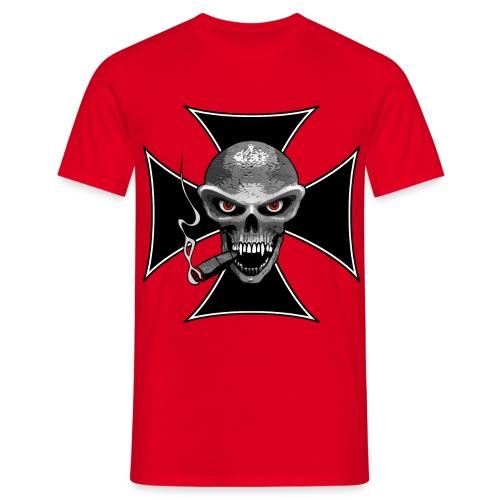 skull croix - T-shirt Homme