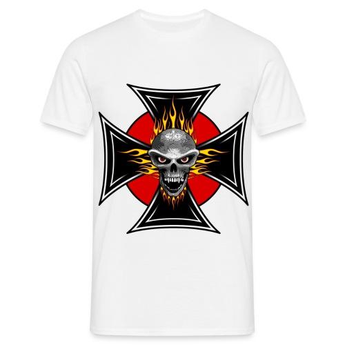 skull croix 2 - T-shirt Homme