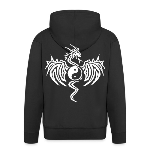 Night Fire Version 2  - Men's Premium Hooded Jacket