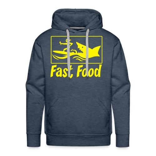 Fast food - Sweat-shirt à capuche Premium pour hommes
