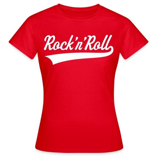 Coca-Cola Style Rock 'n' Roll Shirt for Girls - Women's T-Shirt