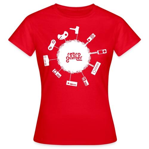 Retro Gamer Shirt for Girls - Women's T-Shirt