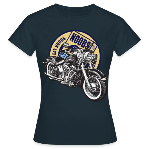 Cereal For 'Noobs' and Vintage Motorcycle All-In-One Shirt for Girls - Women's T-Shirt