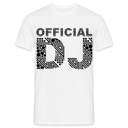Official DJ Shirt  - Men's T-Shirt