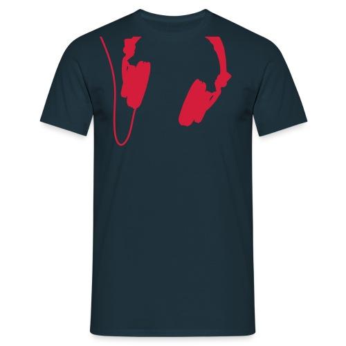 Headphones Shirt  - Men's T-Shirt