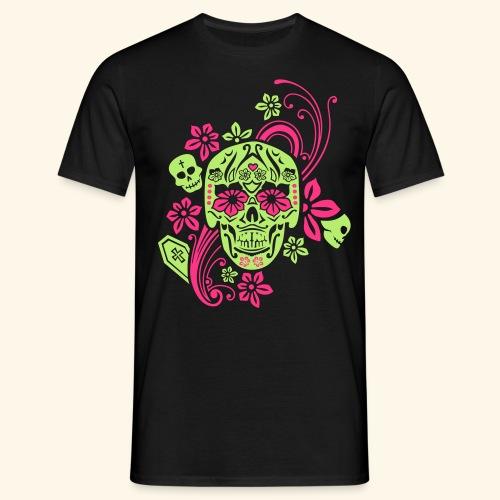 Calavera II, Cancun - Männer T-Shirt
