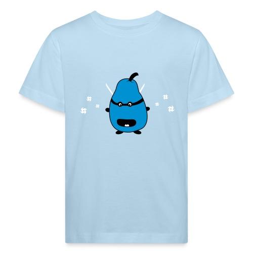 Funny Ninja Pear Lasten paidat - Kinder Bio-T-Shirt
