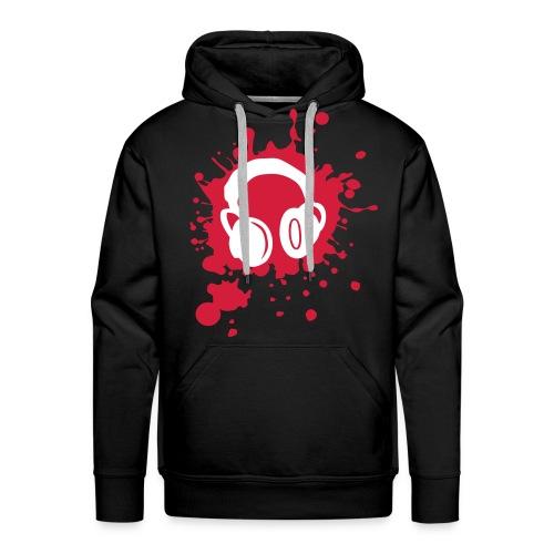 Felpa Headphones - Felpa con cappuccio premium da uomo