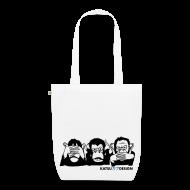 Taschen & Rucksäcke ~ Bio-Stoffbeutel ~ Three wise apes