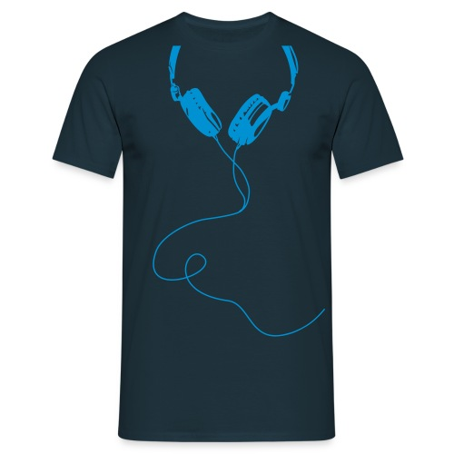 t-shirt Headphone écouteurs audífonos Kopfhörer casque ear-phones - T-shirt Homme