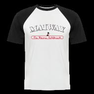 T-Shirts ~ Männer Baseball-T-Shirt ~