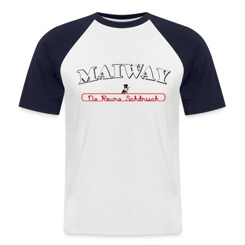 Maiway Herren Baseball - Männer Baseball-T-Shirt