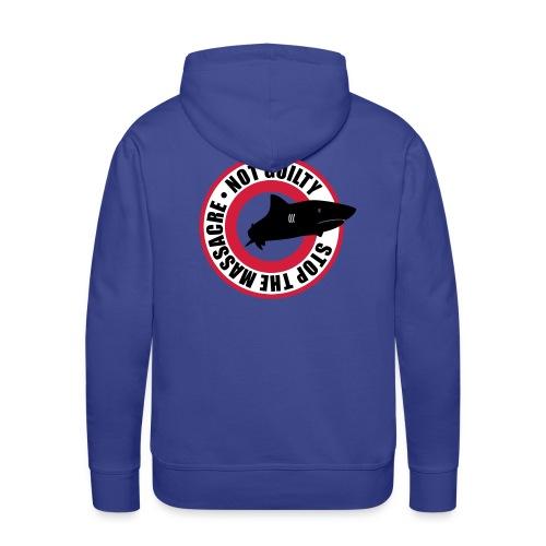 Stop The Massacre - Sweat-shirt à capuche Premium pour hommes