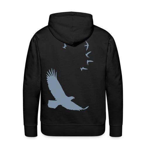 Owl&Hack felpa - Felpa con cappuccio premium da uomo
