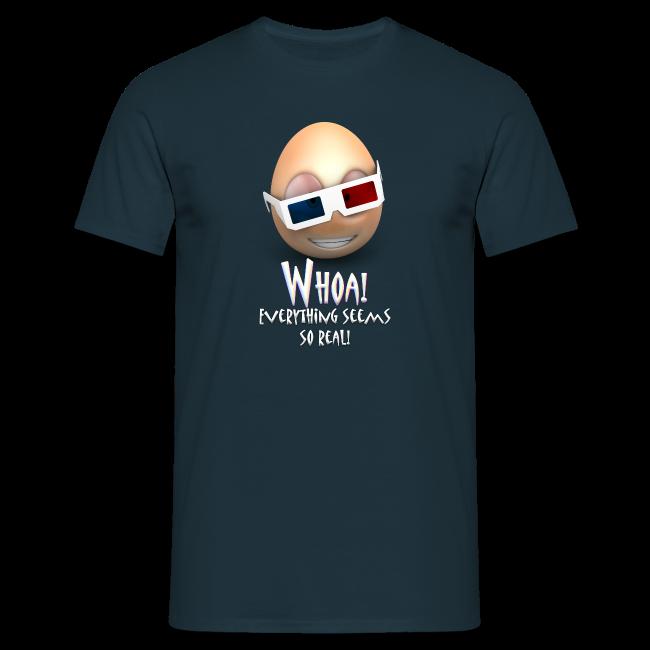 Jason's a Moron - 3D Glasses - Mens Shirt