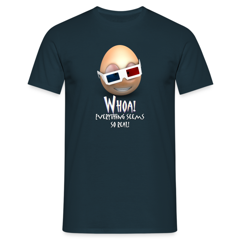 Jason's a Moron - 3D Glasses - Mens Shirt - Men's T-Shirt
