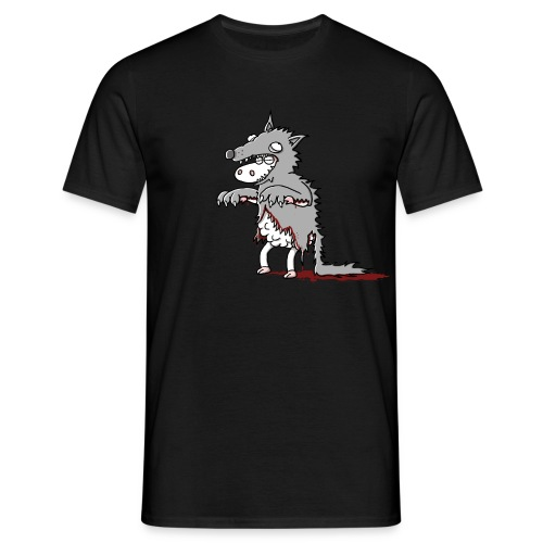 Moonlight Sheep - Männer T-Shirt