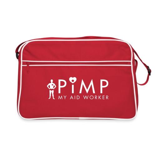 Pimp my aid worker retrobag - Retro veske