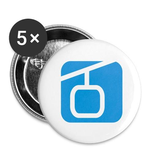 Pin, 5er Pack - Buttons klein 25 mm