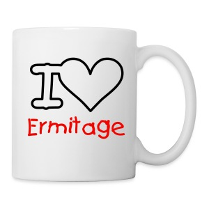 I Love Ermitage - Tasse