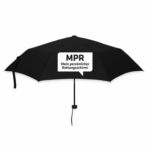 MPR Mein persönlicher Rettungsschirm! - Regenschirm (klein)
