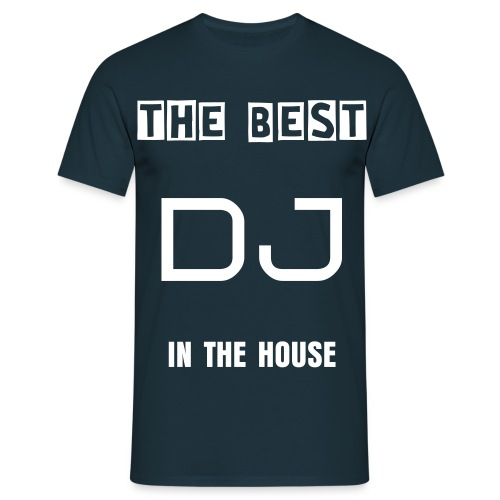 Custom- DJ Shirt - Men's T-Shirt