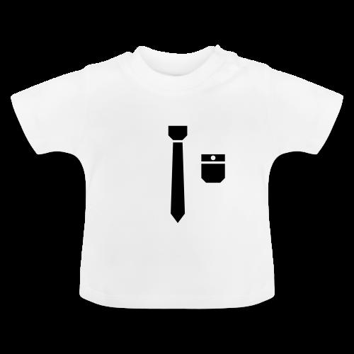 Stropdas en zakje (babyshirt) - Baby T-shirt