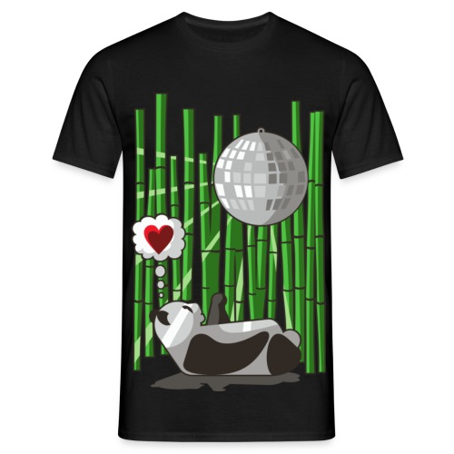 T-Shirt - Disco Panda! - T-skjorte for menn