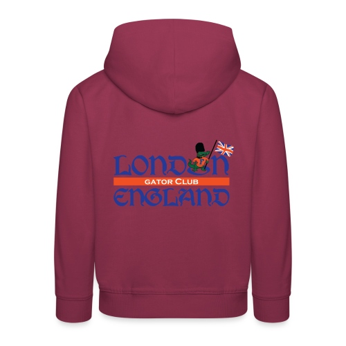 London Gators Hoodie (White) (Kids) - Kids' Premium Hoodie