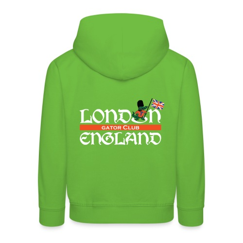 London Gators Hoodie  (Kids) (Color choices) - white lettering - Kids' Premium Hoodie