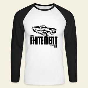 Pontiac Firebird Convertible '69 long  - Langærmet herre-baseballshirt